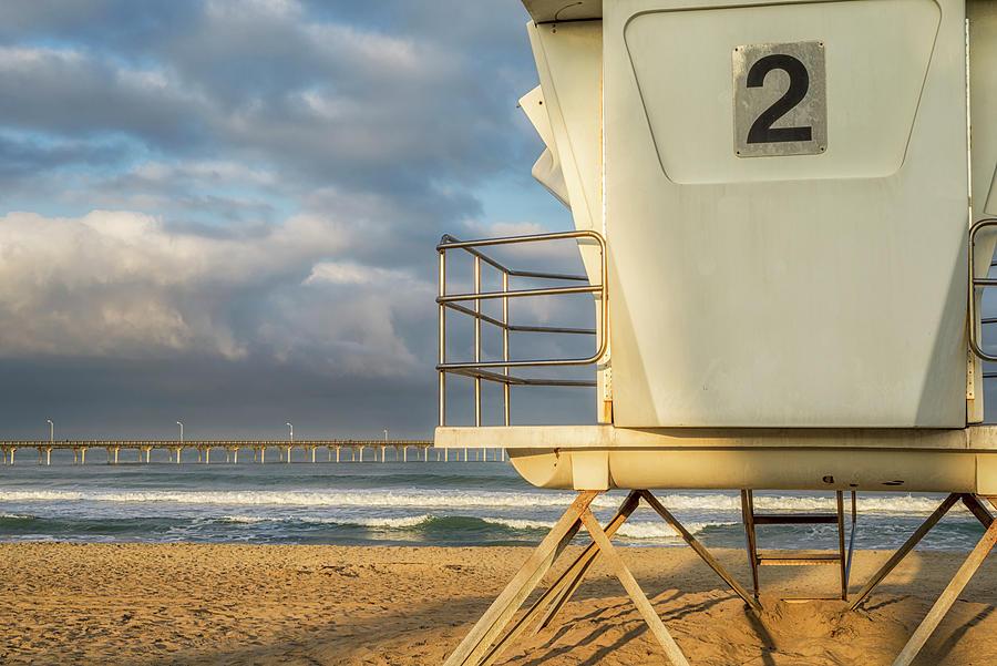 No. 2 At Ocean Beach by Joseph S Giacalone