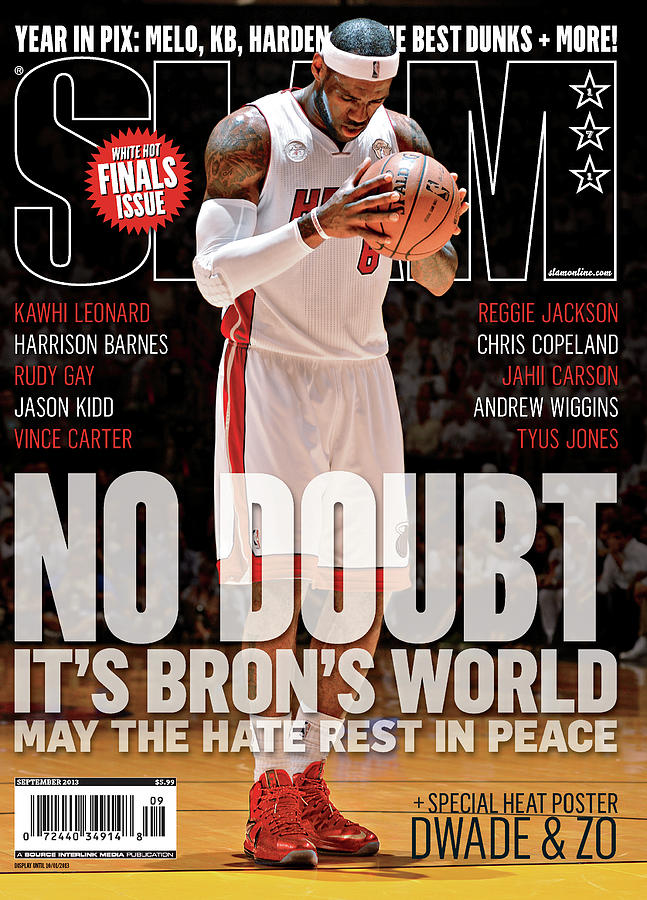No Doubt Its Brons World: May the Hate Rest in Peace SLAM Cover Photograph by Getty Images