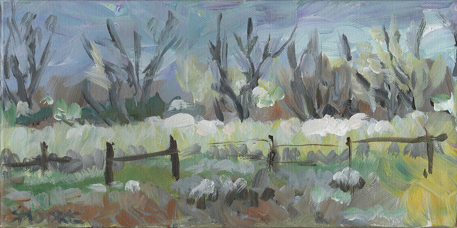 Landscape Painting - No Drama by Susan Moore