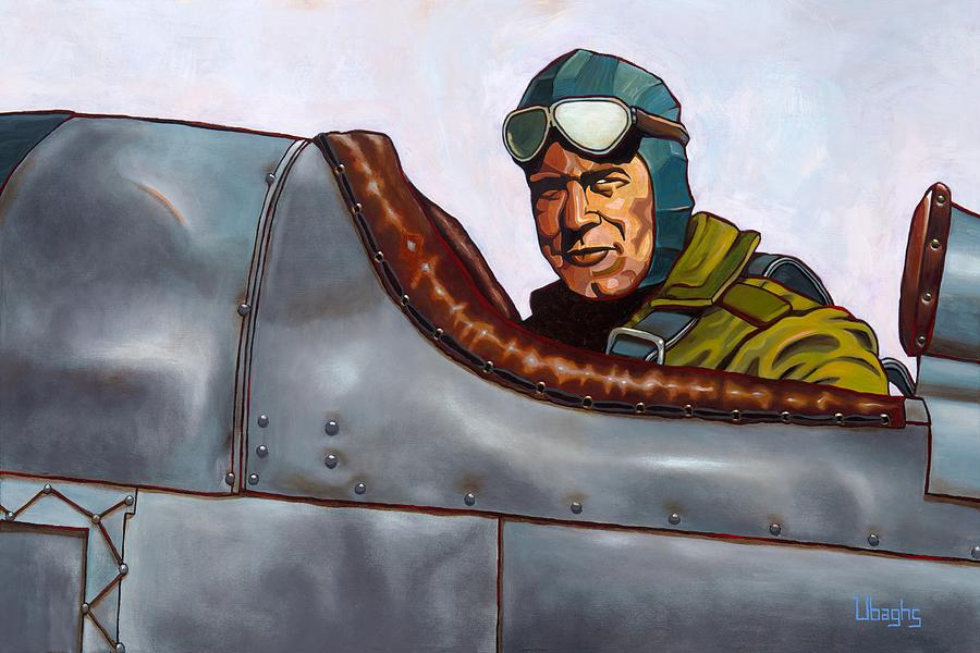 Jimmy Doolittle Painting - No Risk, No Reward by Bryan Ubaghs