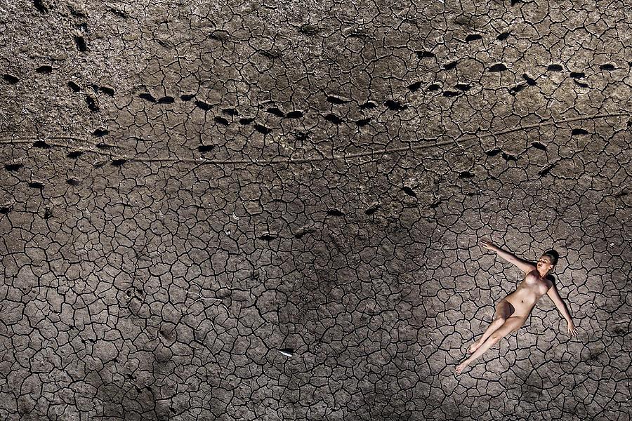 Nude Photograph - No Sand by Ovi D. Pop
