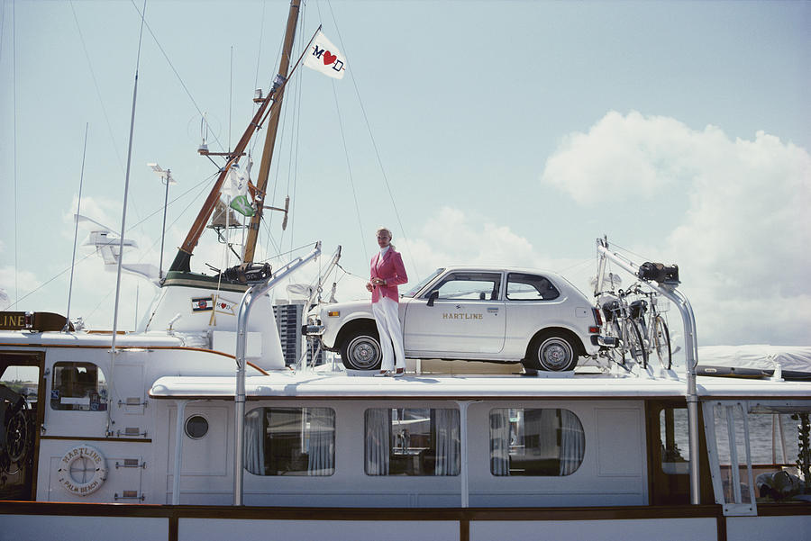 No Transport Problems Photograph by Slim Aarons