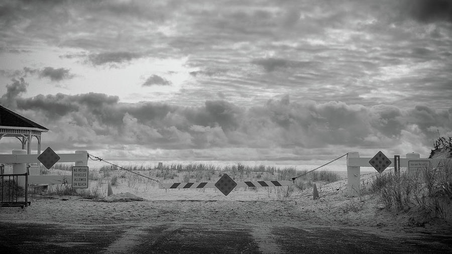 Beach Photograph - No Vehicles by Steve Stanger