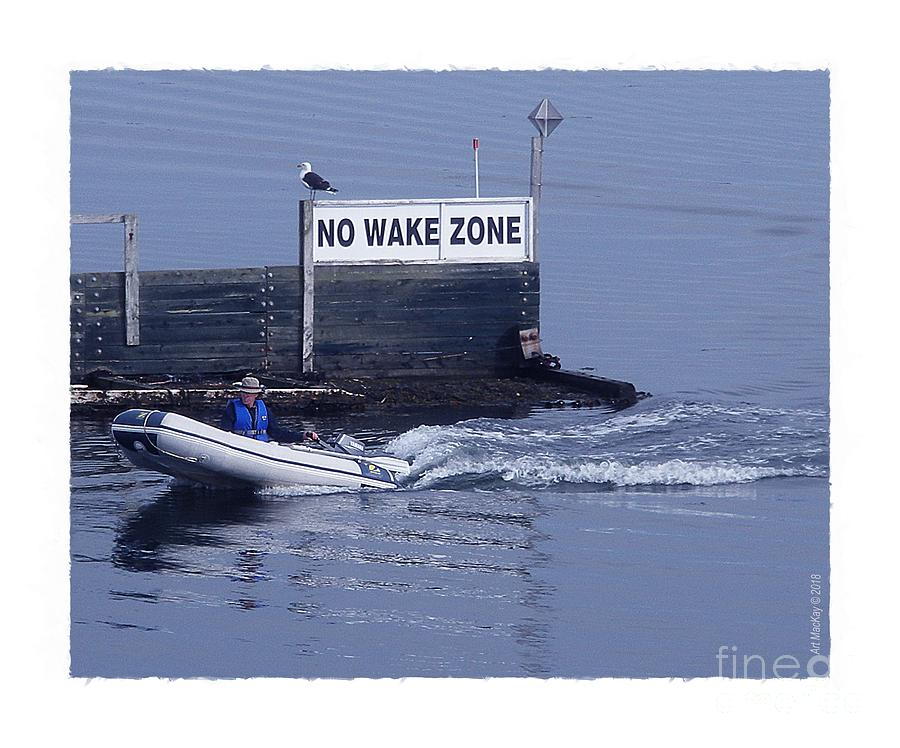 No Wake Zone by Art MacKay