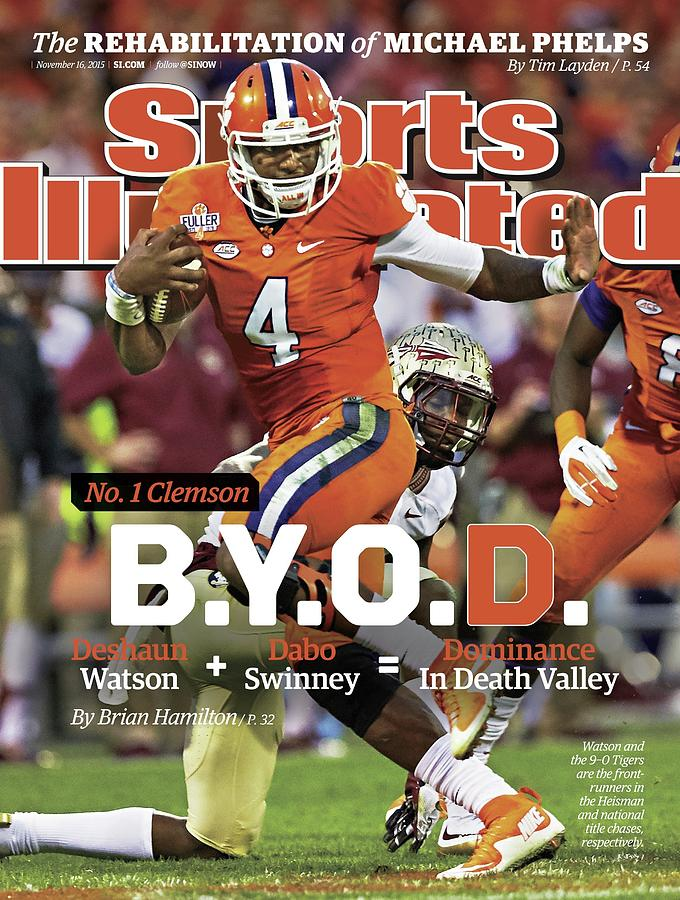 No.1 Clemson B.y.o.d. Sports Illustrated Cover Photograph by Sports Illustrated
