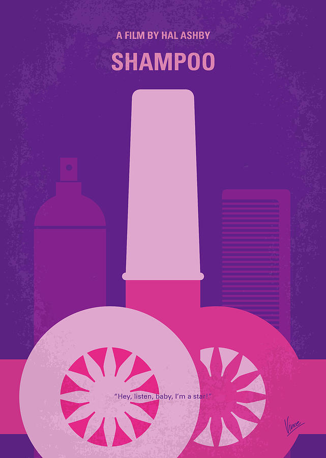 No1074 My Shampoo minimal movie poster by Chungkong Art