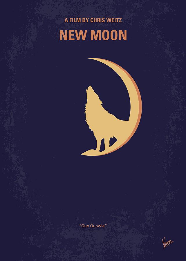 No1081 My Twilight 2 minimal movie poster by Chungkong Art