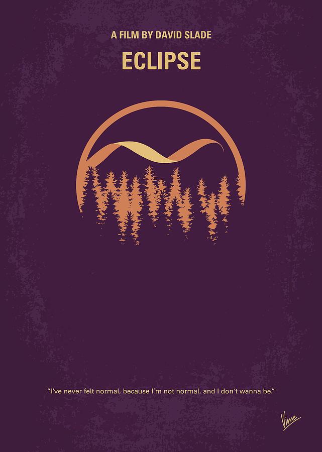 No1082 My Twilight 3 minimal movie poster by Chungkong Art