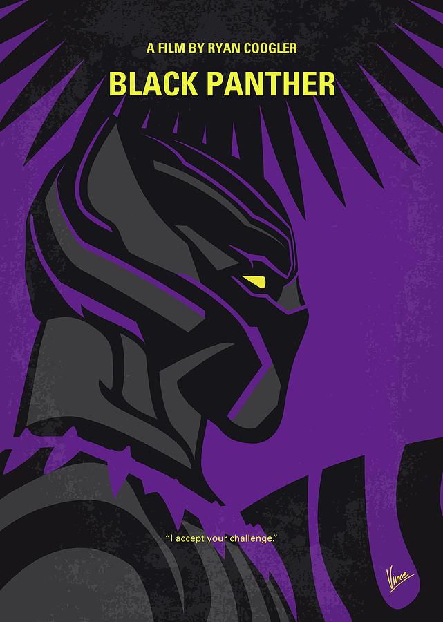No1093 My Panther minimal movie poster by Chungkong Art