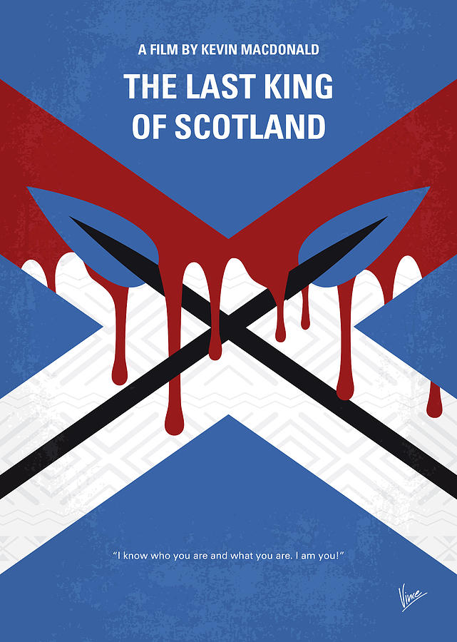 No1110 My The Last King of Scotland minimal movie poster by Chungkong Art