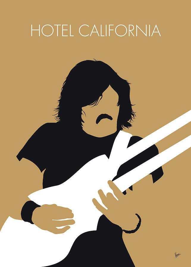 No230 MY THE EAGLES Minimal Music poster by Chungkong Art