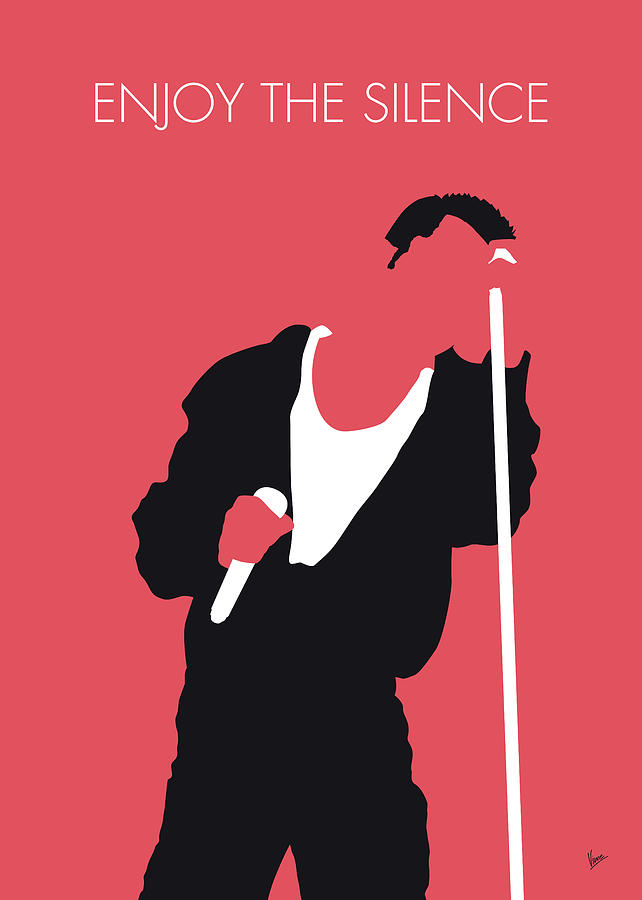 No242 MY Depeche Mode Minimal Music poster by Chungkong Art