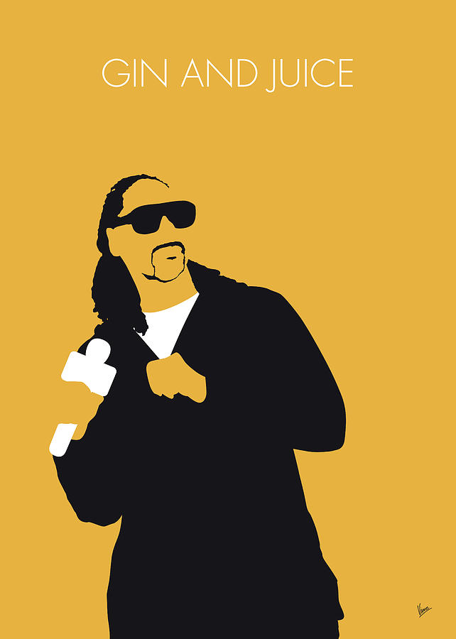 No244 MY snoop dogg Minimal Music poster by Chungkong Art