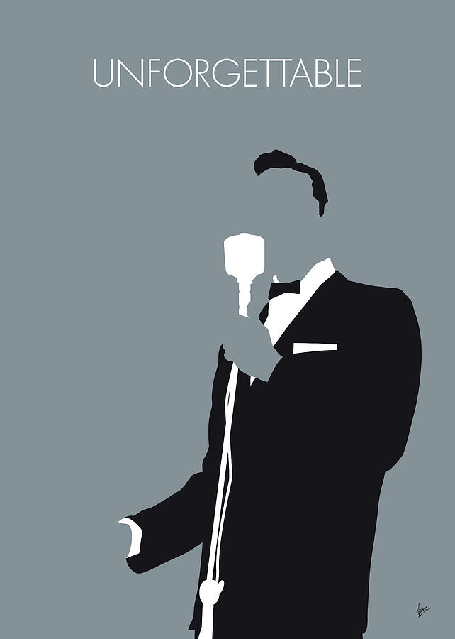 No247 MY Nat King Cole Minimal Music poster by Chungkong Art