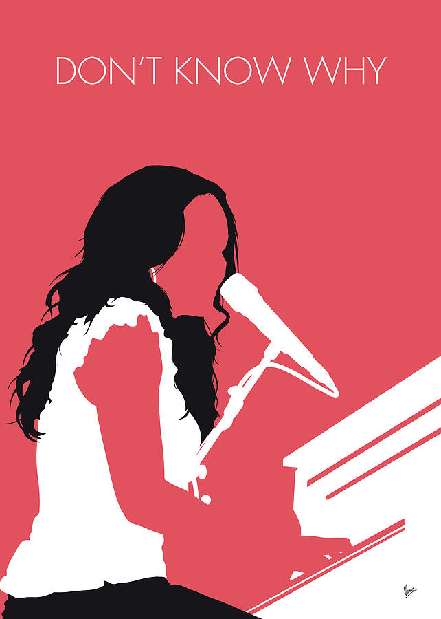 No252 MY Norah Jones Minimal Music poster by Chungkong Art