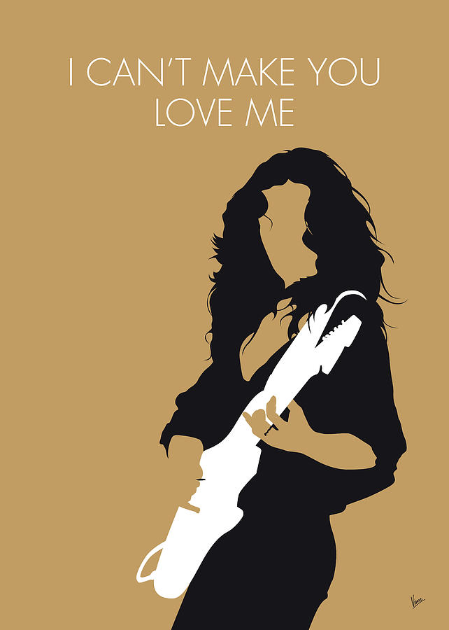 Luck Digital Art - No270 My Bonnie Raitt Minimal Music Poster by Chungkong Art