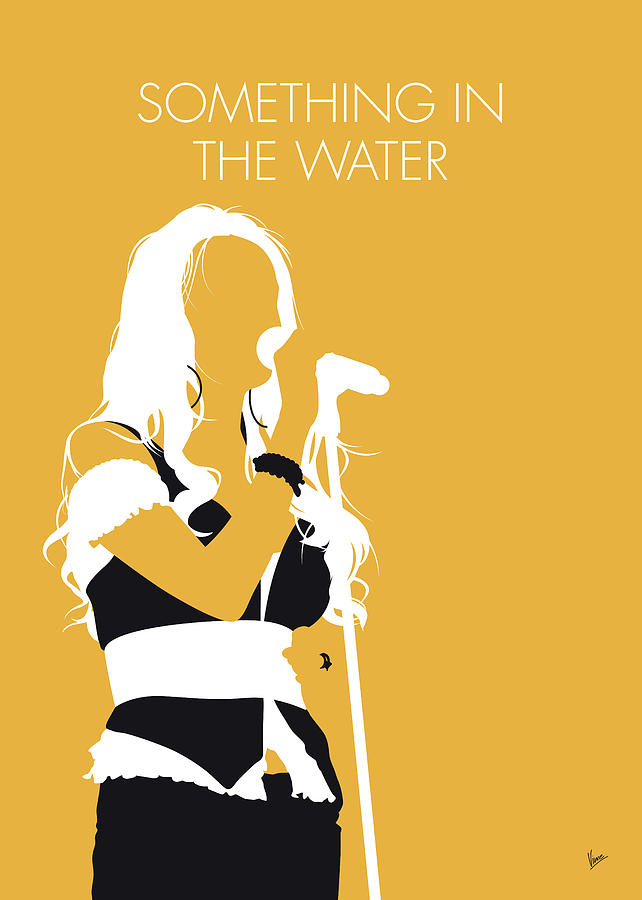 Carrie Digital Art - No274 My Carrie Underwood Minimal Music Poster by Chungkong Art