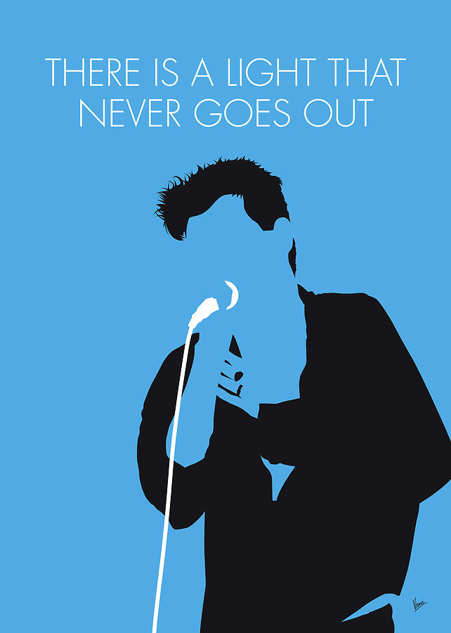The Digital Art - No289 My The Smiths Minimal Music Poster by Chungkong Art