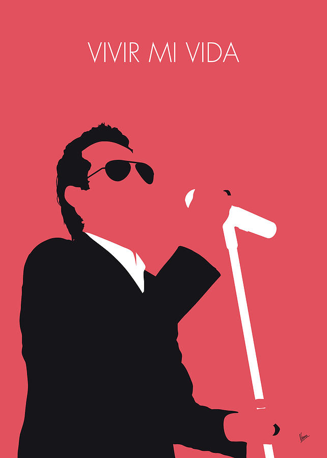 No292 MY Marc Anthony Minimal Music poster by Chungkong Art