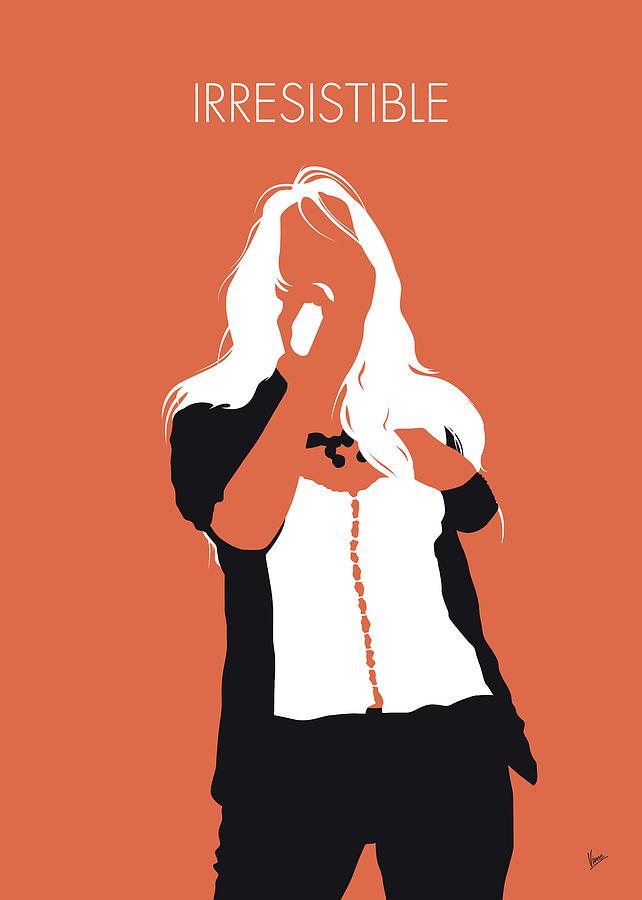 No293 MY Jessica simpson Minimal Music poster by Chungkong Art