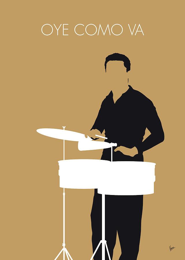 No300 MY Tito Puente Minimal Music poster by Chungkong Art
