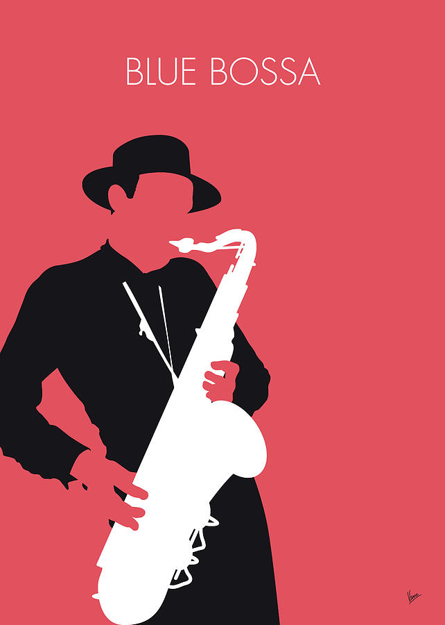 No302 MY Dexter Gordon Minimal Music poster by Chungkong Art