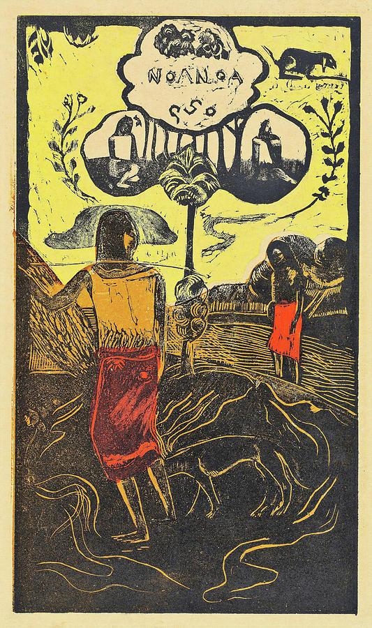Tahiti Island Painting - Noa Noa, Fragrant, Fragrant -  Digital Remastered Edition by Paul Gauguin