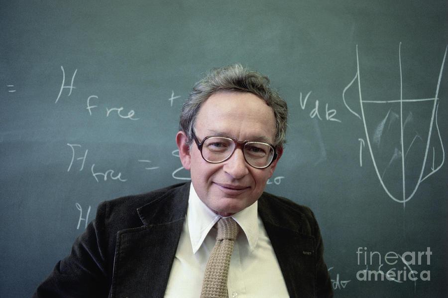 Nobel Prize Winner Philip W. Anderson Photograph by Bettmann