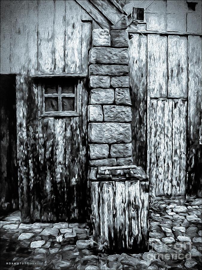 Noir Abandoned Lands Digital Art