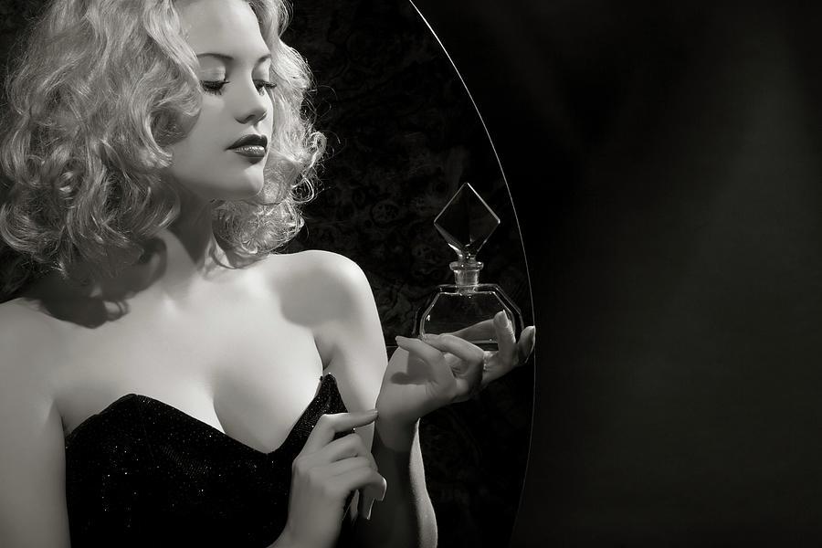 Noir Style.new Aromat Photograph by Retroatelier