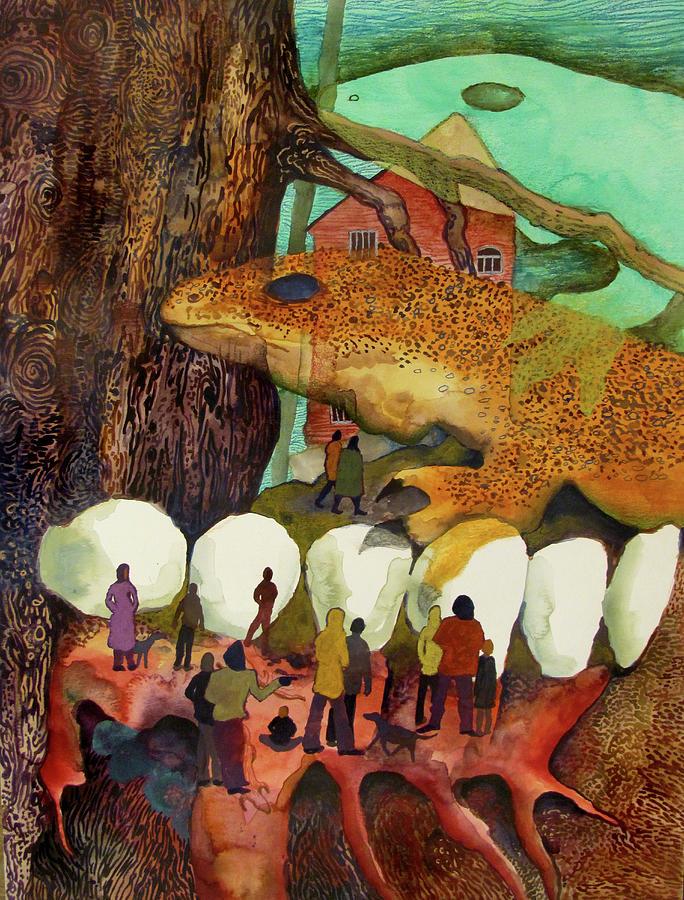 Nomadic Cavities by James Huntley