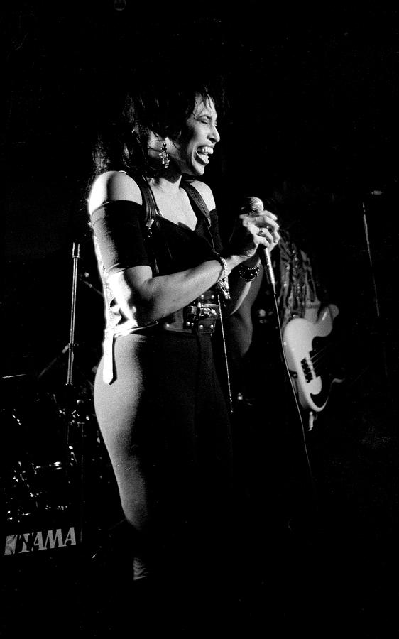 Nona Hendryx 1989 Photograph by Martyn Goodacre