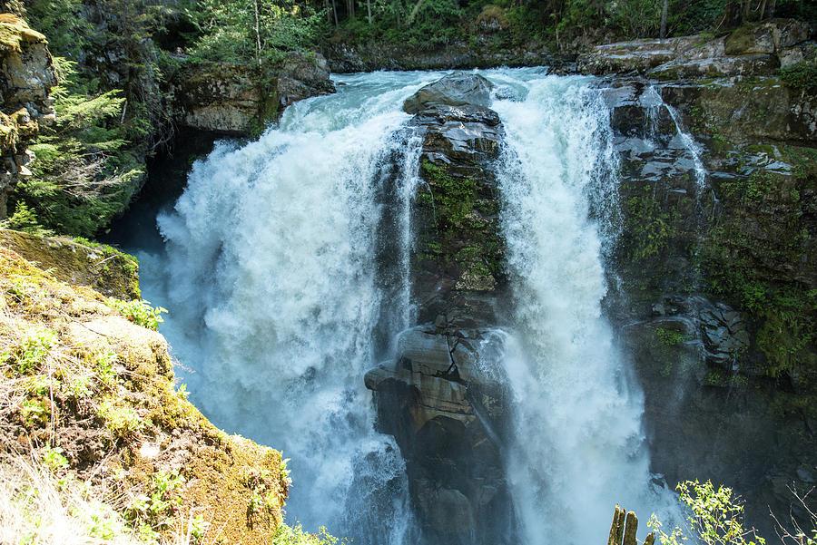 Nooksack Falls by Tom Cochran