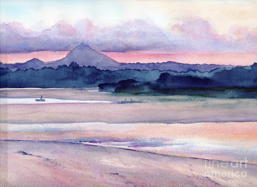 Noosa River Sunset by Chris Hobel