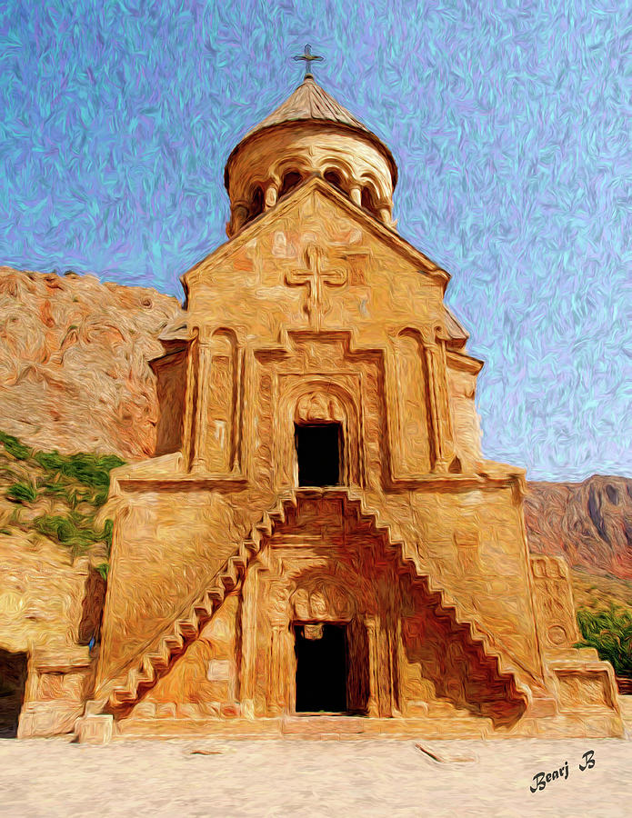 Noravank by Bearj B Photo Art