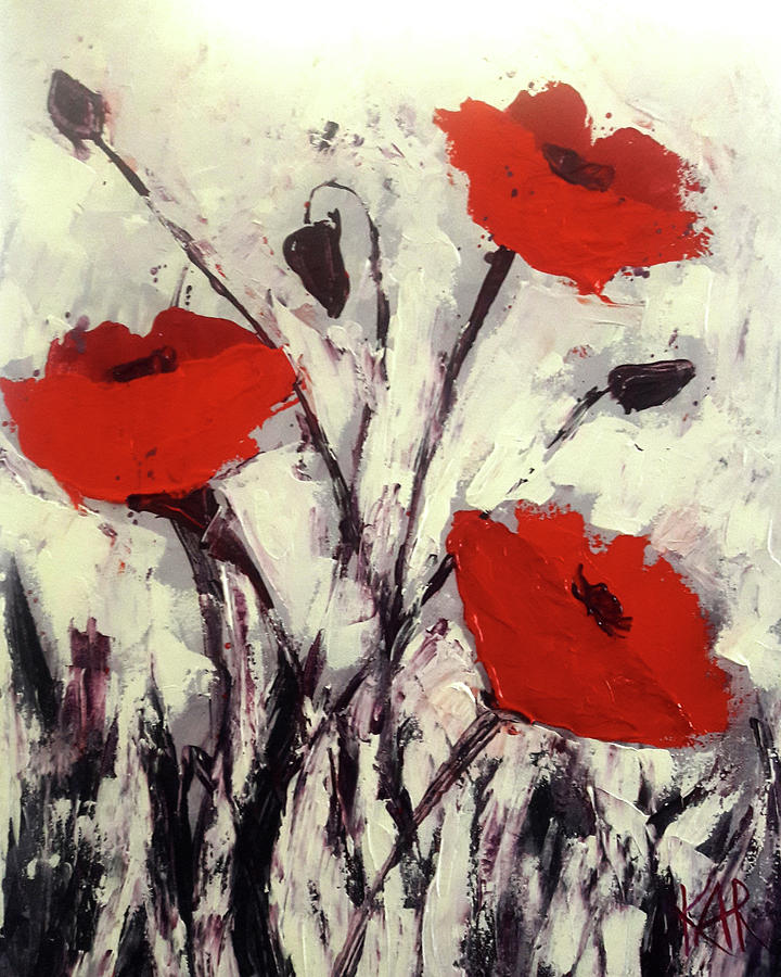 Noreen's Poppies by Art by Kar