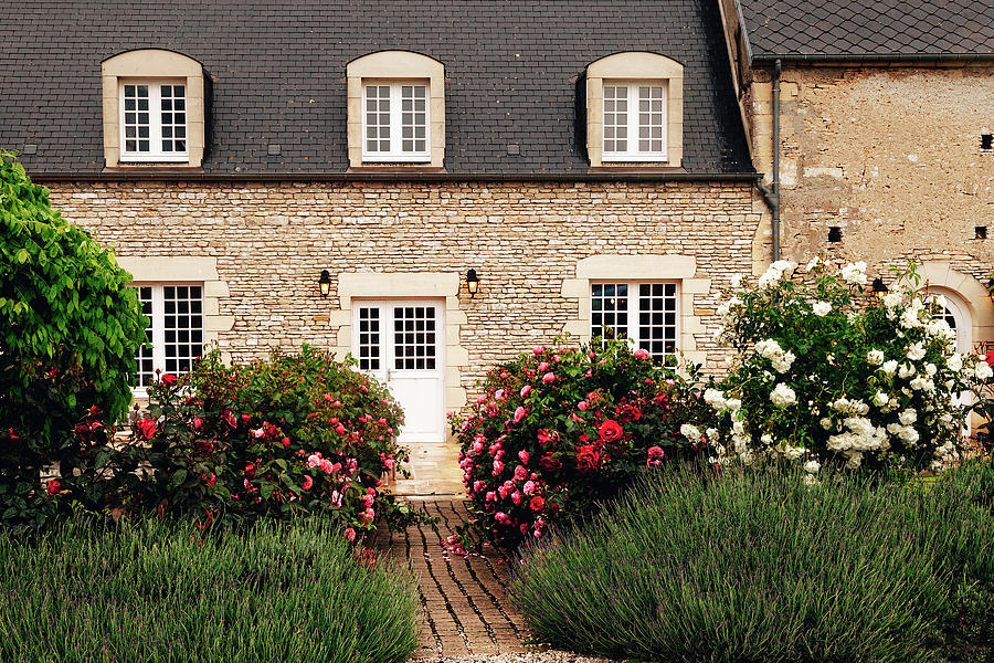 France Photograph - Normandy Cottage by Andrew Soundarajan