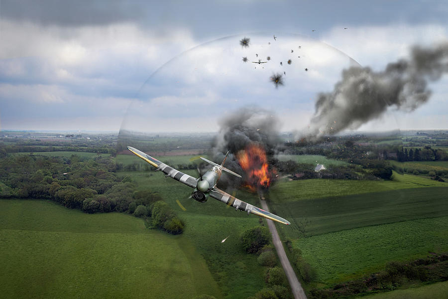 Normandy Typhoon shockwave  by Gary Eason