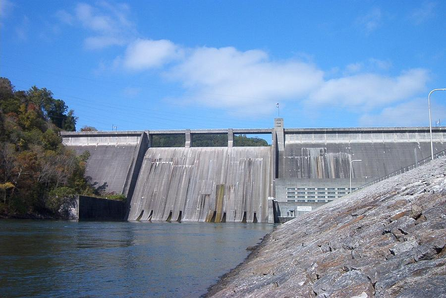 Norris Dam Photograph - Norris Dam by Pete Norris