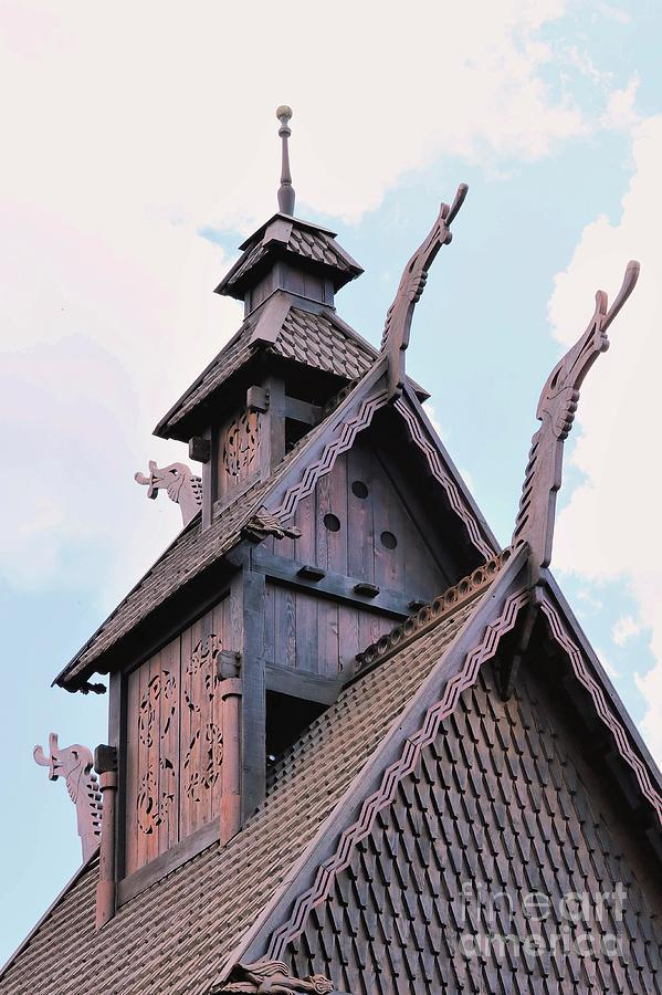 Norse Hall Steeple Photograph