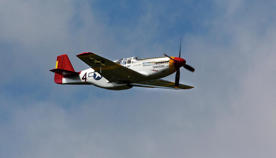 North American P 51 Mustang The Red Tail Of The Tuskegee Airmen