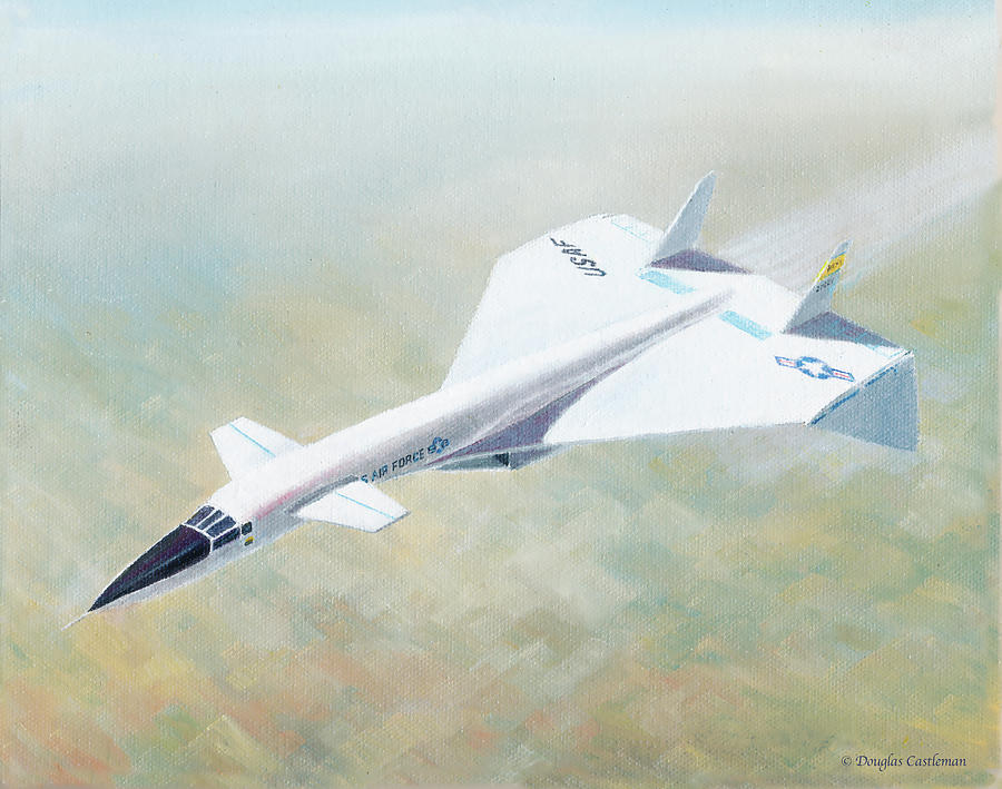 North American XB-70 by Douglas Castleman