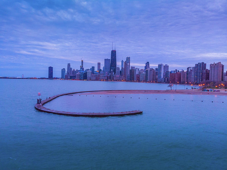 North Avenue Beach Chicago, IL by Bobby King