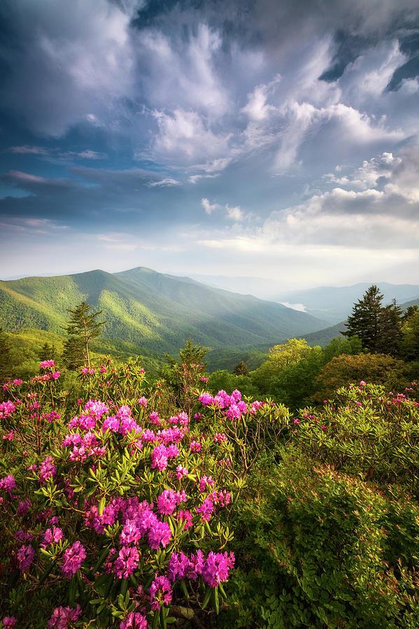 North Carolina Blue Ridge Parkway Asheville Nc Mountains Landscape Photograph