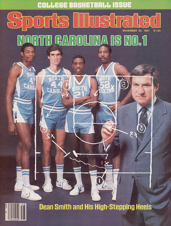 North Carolina Coach Dean Smith And Team Sports Illustrated Cover Photograph by Sports Illustrated