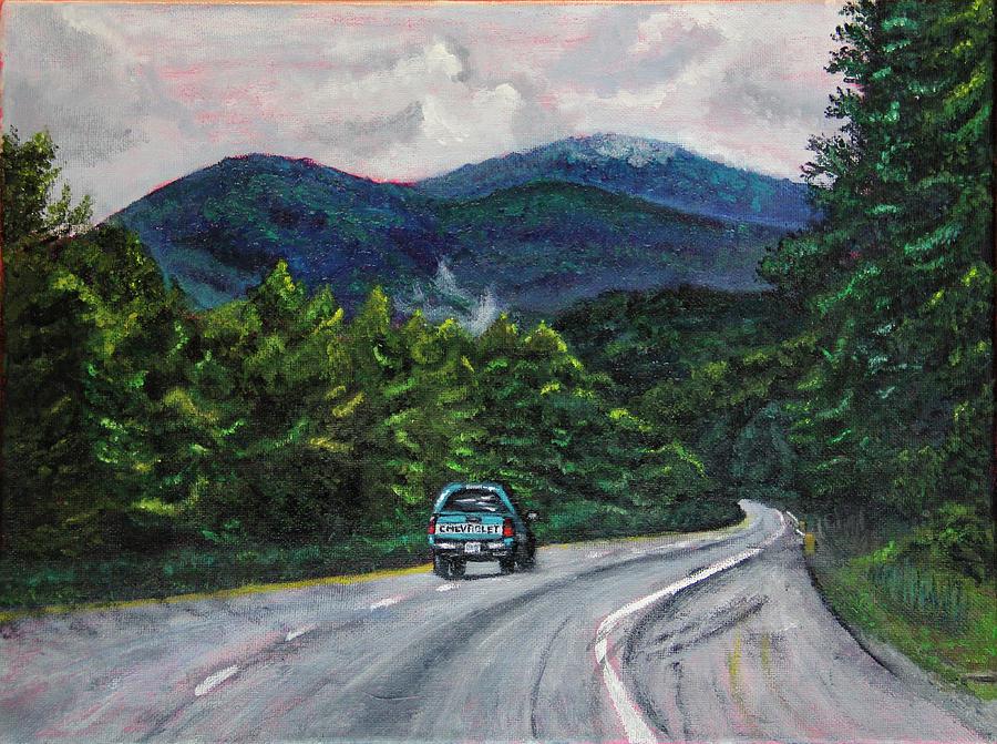 North Carolina Journeys - Truck by Marina McLain