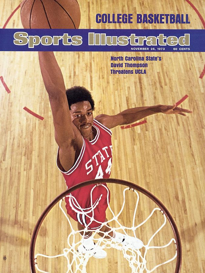 North Carolina State David Thompson Sports Illustrated Cover Photograph by Sports Illustrated