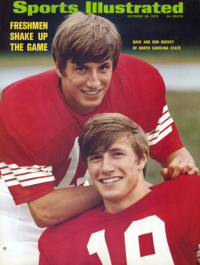 North Carolina State University Don And Dave Buckey Sports Illustrated Cover Photograph by Sports Illustrated