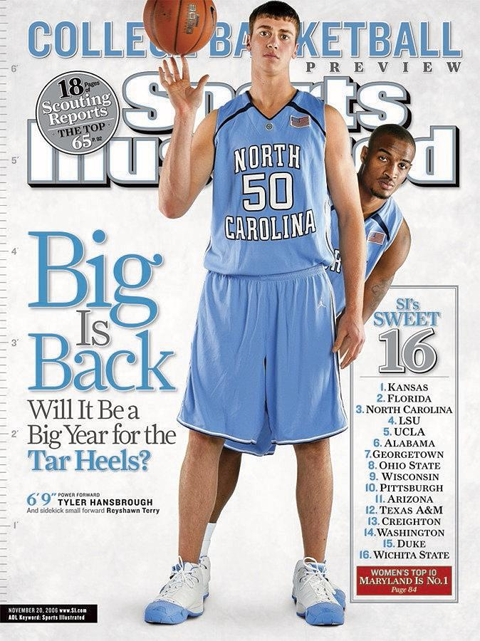North Carolina Tyler Hansbrough And Reyshawn Terry Sports Illustrated Cover Photograph by Sports Illustrated