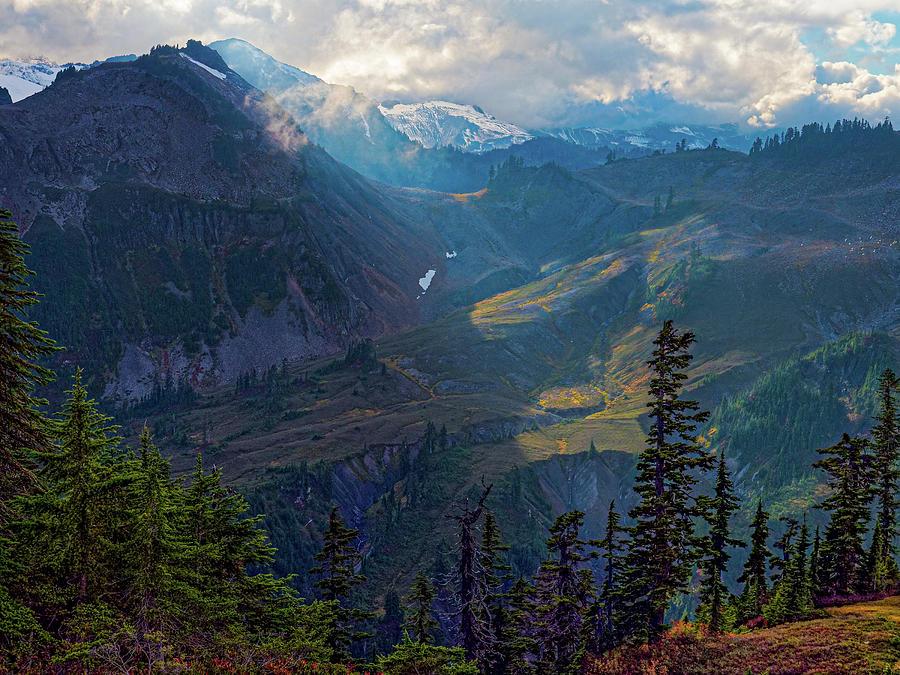 North Cascades by Thomas Hall